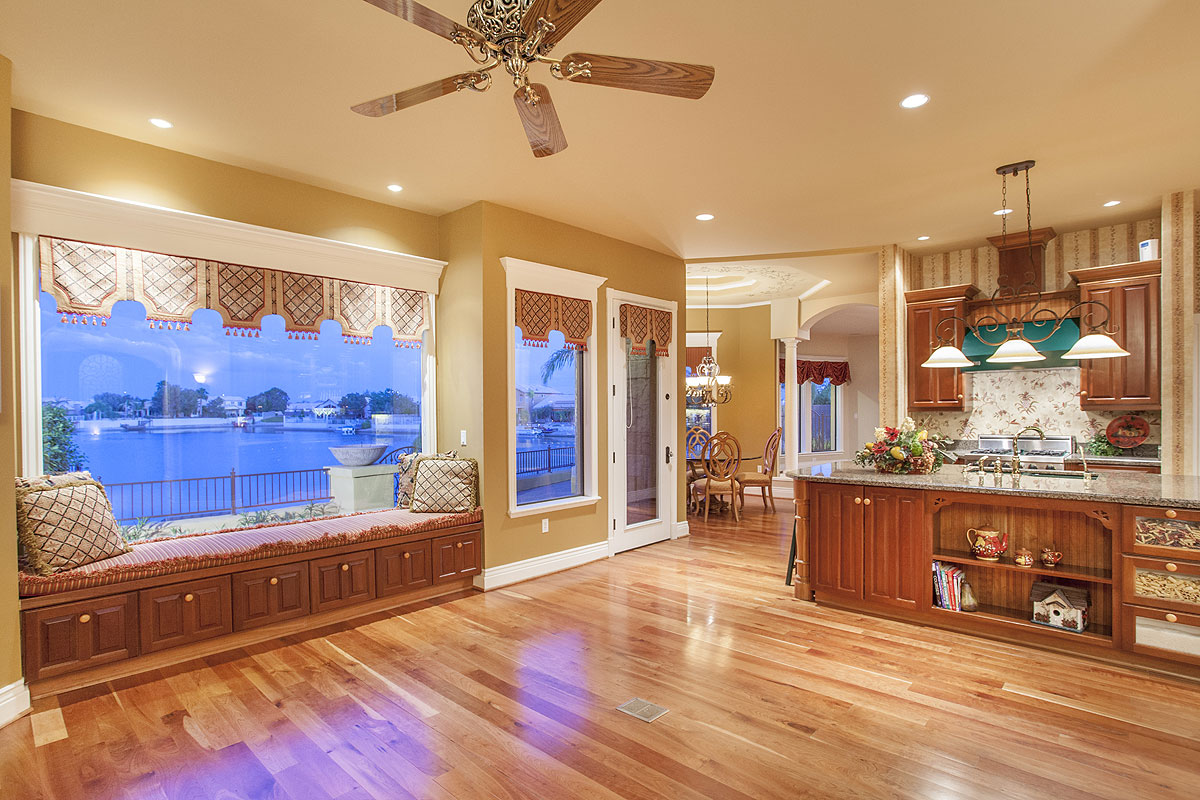 Waterfront Custom Home With Pool For Sale In Arrowhead